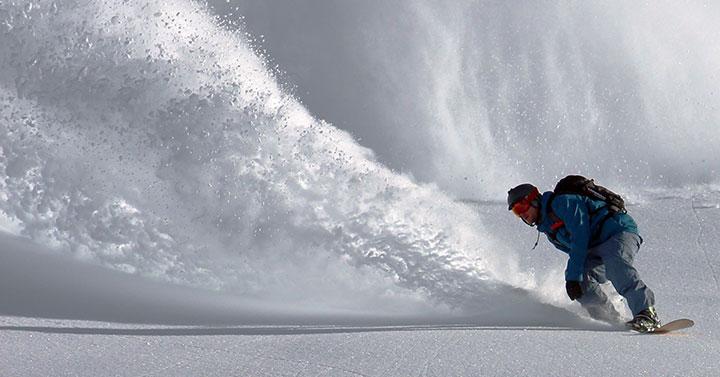 bedrijfsuitje snowboarden
