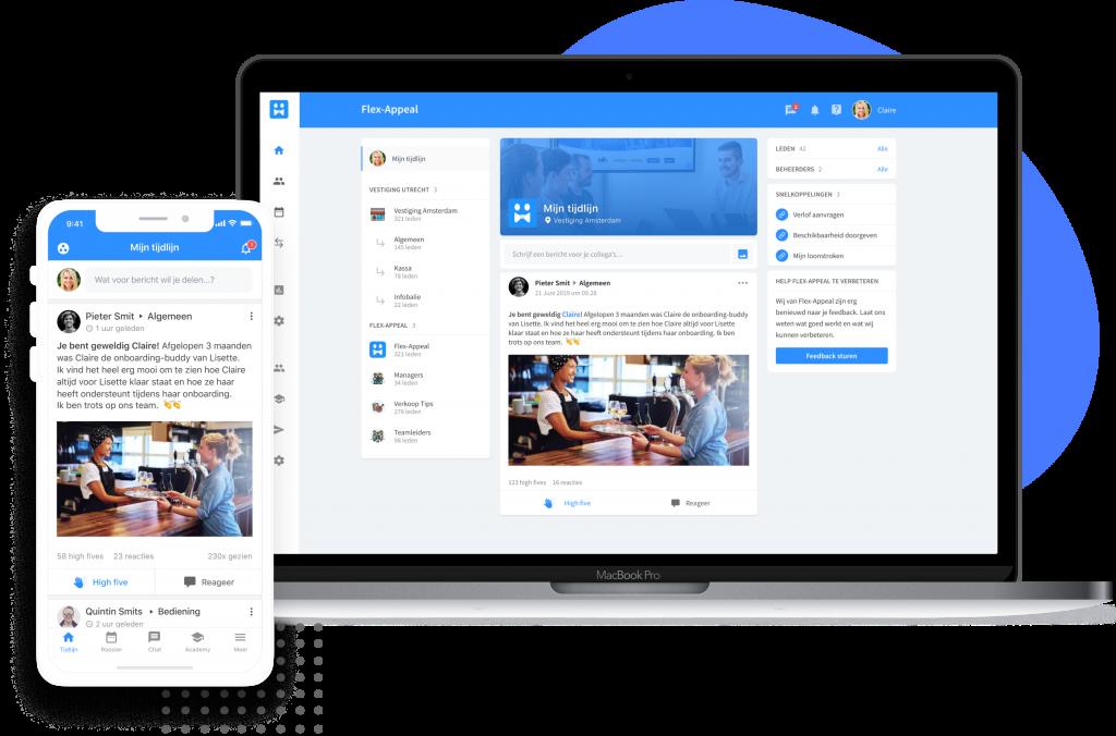 web en mobile flex appeal